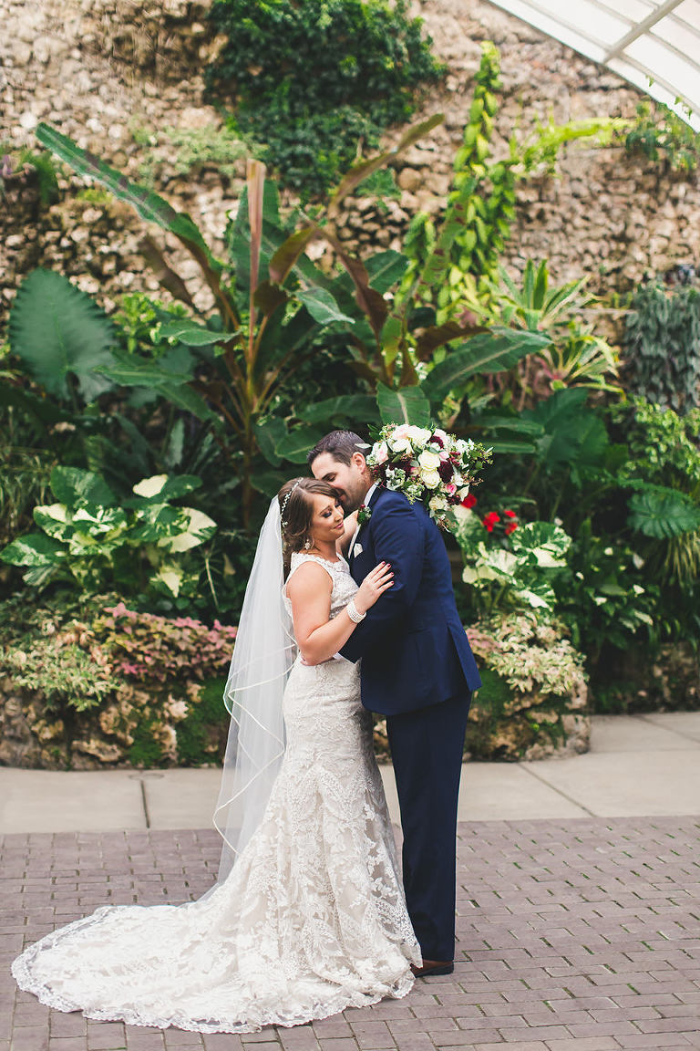 Belle Isle Conservatory Wedding In Detroit Michigan